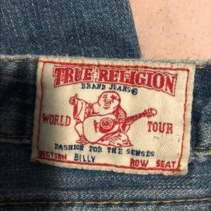True religion jeans. Billy.